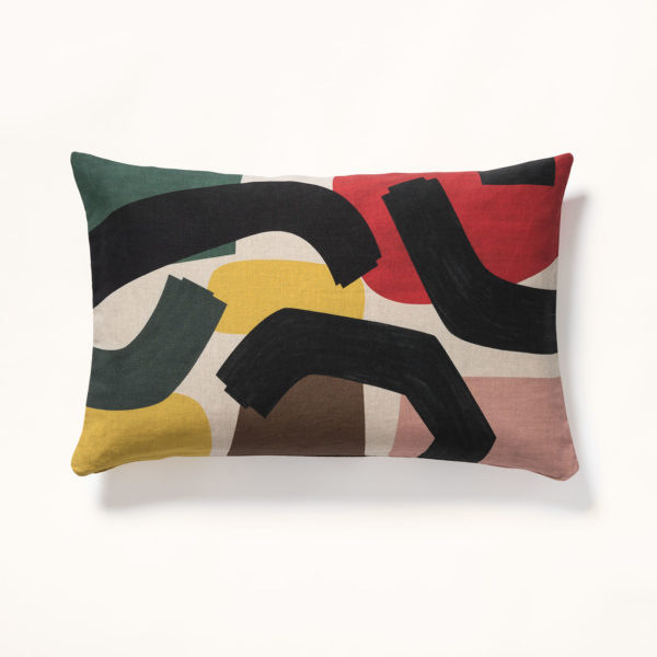 grand coussin motif fifty's