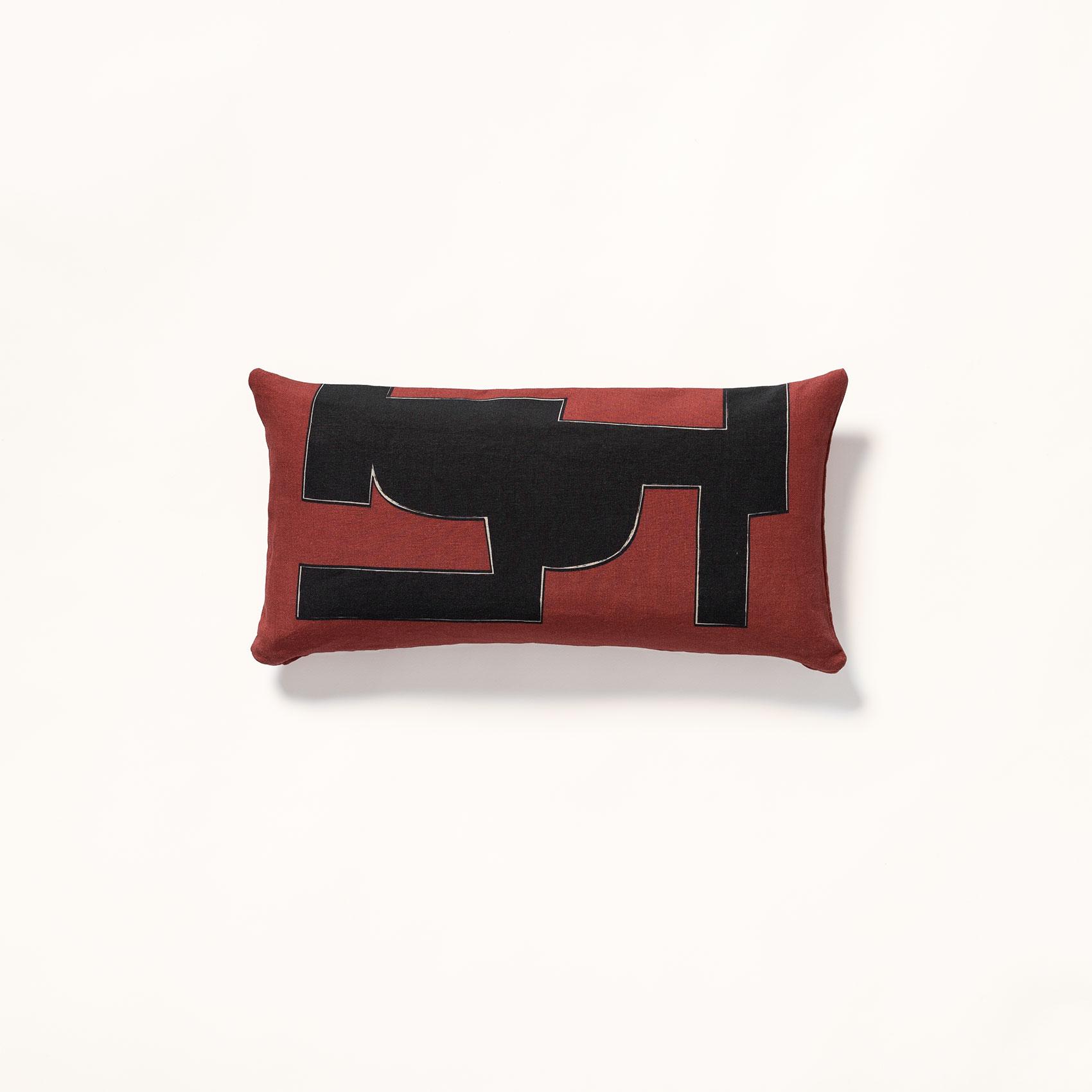 décoration minimaliste • jacques • housse de coussin terracotta dÉdale