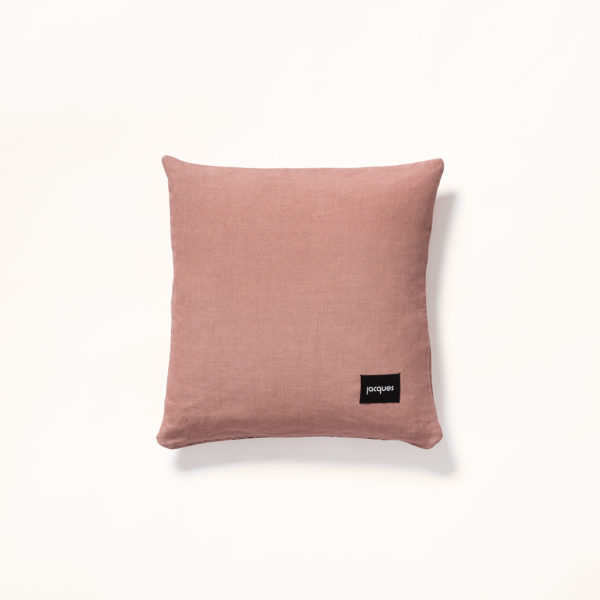dos coussin rose soleil