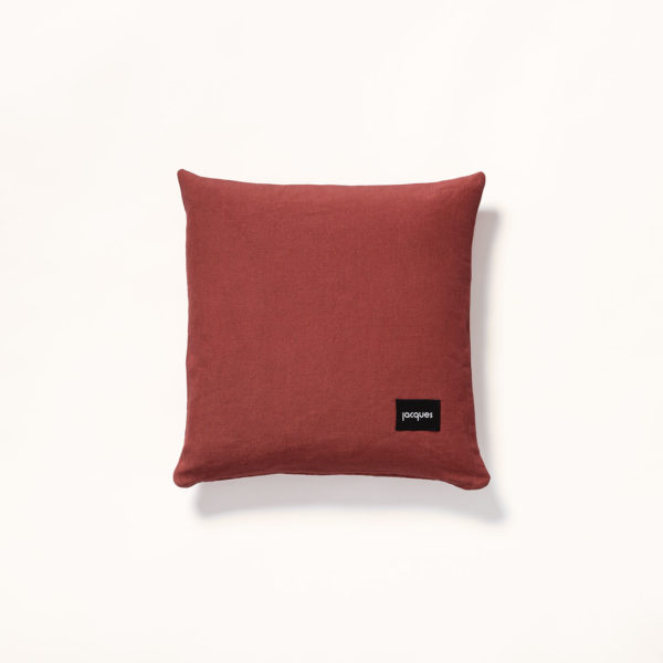 dos coussin soleil terracotta