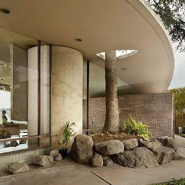 maison d'architecte moderniste