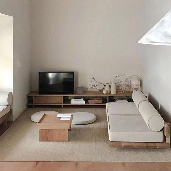 intérieur minimaliste et épurée