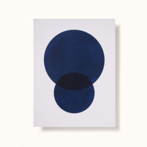 affiche art marque jacques bleu
