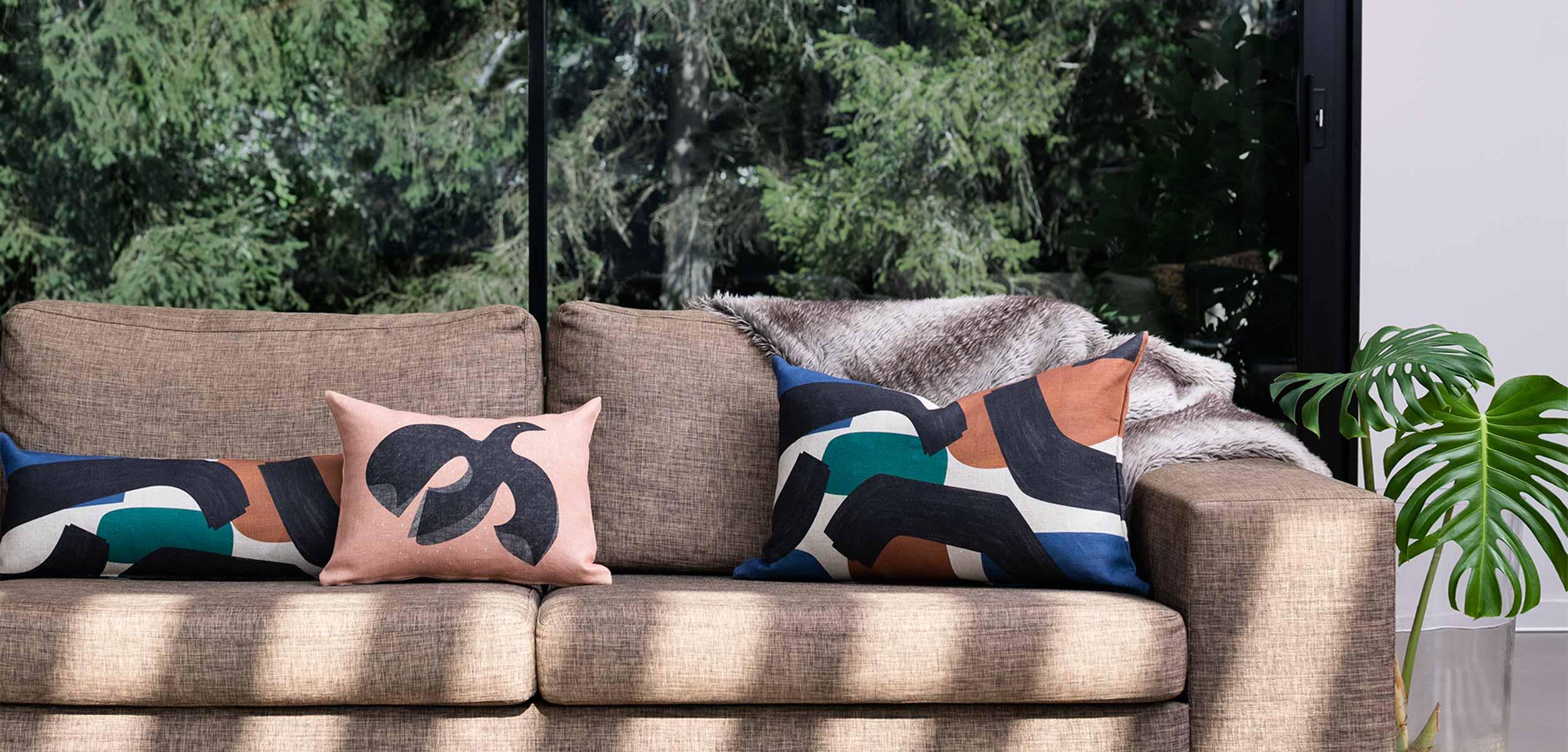 coussin jacques sur canapé nouvelle collection
