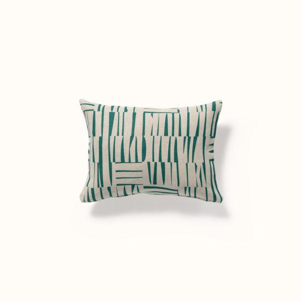 motif mid century design imprimé sur une housse de coussin