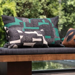 housse de coussin en lin collection jacques, architecture Brazilian modernist