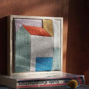 tableau maison minimaliste