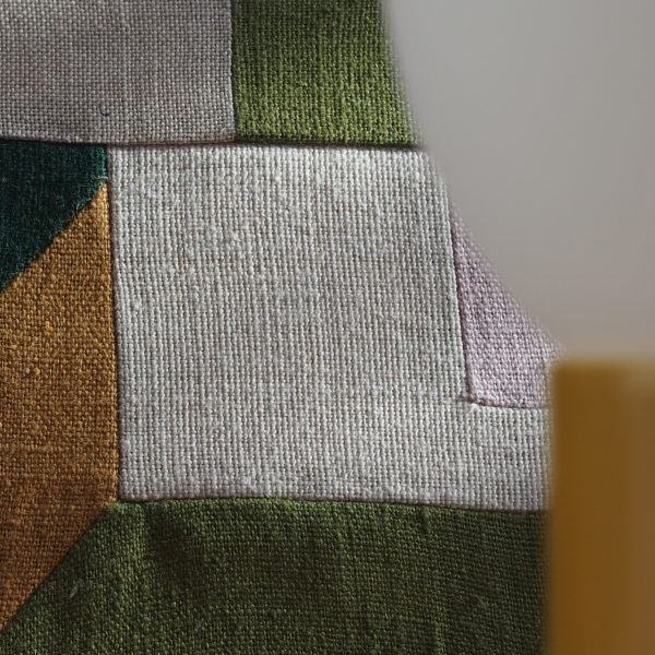 architecture de tissu comme un patchwork