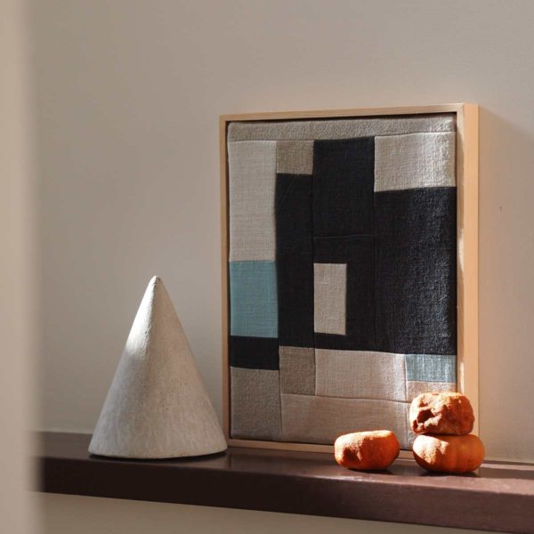 tableau patchwork minimaliste