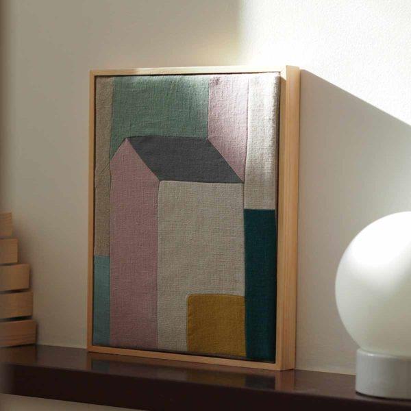 decor minimaliste patchwork