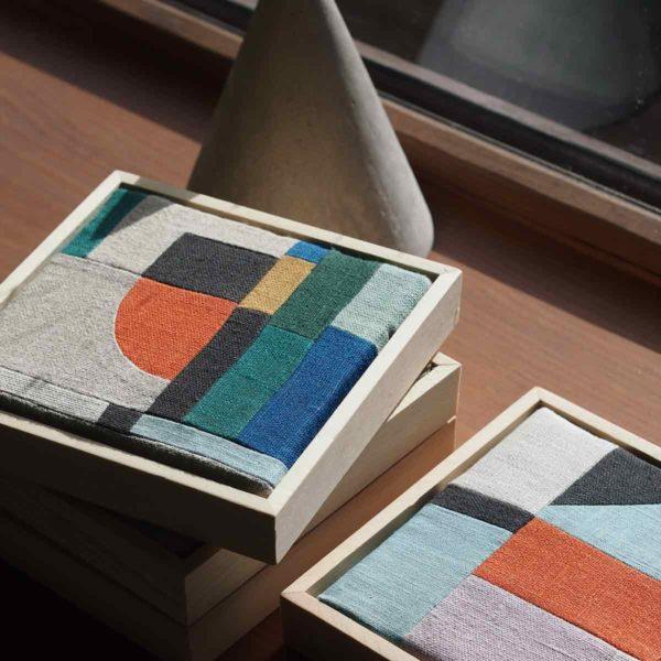 patchwork decoration minimaliste
