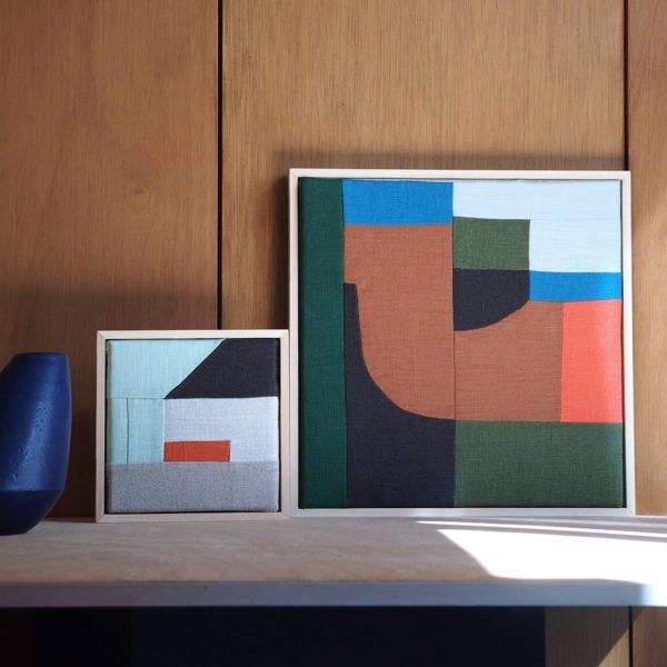 tableau patchwork moderniste