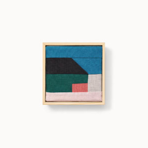 patchwork moderne en lin français